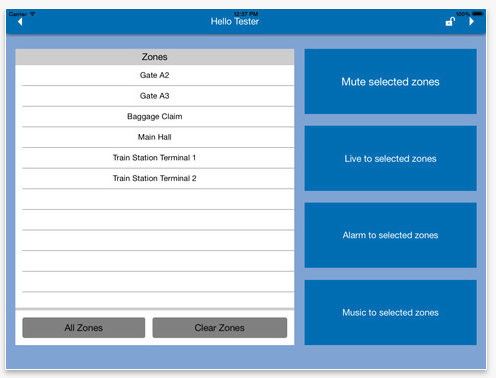 iPad Globalcom Control